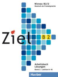 Книга Ziel B2/2 Arbeitsbuch Lektion 9-16 Lösungen