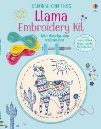 Набор для творчества Llama Embroidery Kit
