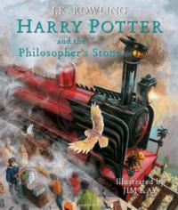 Набор книг Harry Potter Illustrated Box Set (3 Books)