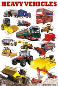 Плакат Heavy Vehicles
