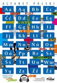 Плакат Plakat Alfabet polski