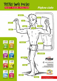 Плакат Plakat Piękne ciało