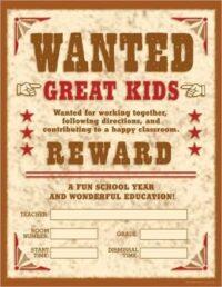 Плакат Wanted Great Kids