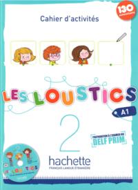Рабочая тетрадь Les Loustics 2 Cahier d'activités avec CD audio