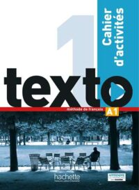 Рабочая тетрадь Texto 1 Сahier d'activités avec DVD-ROM