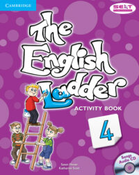 Рабочая тетрадь The English Ladder 4 Activity Book with Songs Audio CD