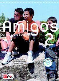 Учебник Aula Amigos 2 Libro del alumno con Portfolio el alumno y CD-Audio