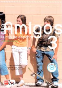 Учебник Aula Amigos 3 Libro del alumno con Portfolio el alumno y CD-Audio