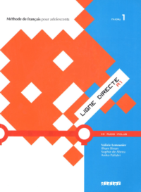 Учебник Ligne Directe 1 Méthode de Français — Livre de l'élève avec CD audio
