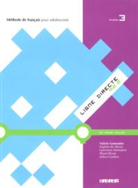 Учебник Ligne Directe 3 Méthode de Français — Livre de l'élève avec CD audio