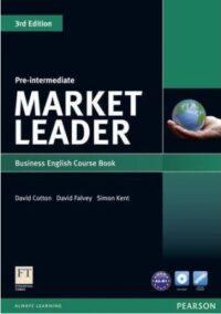 Учебник Market Leader 3rd Edition Pre-Intermediate Coursebook with DVD-ROM
