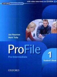 Учебник ProFile 1 Student's Book with CD-ROM
