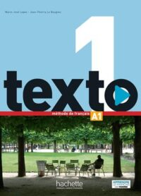 Учебник Texto 1 Méthode de Français — Livre de l'élève avec DVD-ROM