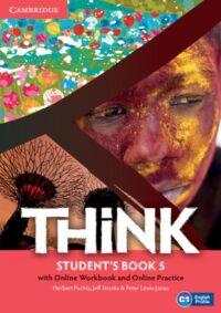 Учебник Think 5 Student's Book with Online Workbook and Online Practice
