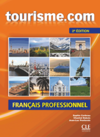 Учебник Tourisme.com 2e Édition Livre de l'élève avec CD audio