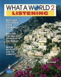 Учебник What a World! 2nd Edition Listening 2 Student's Book with CD